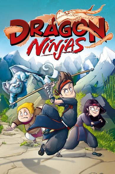 Dragon Ninjas Cover - Band 1