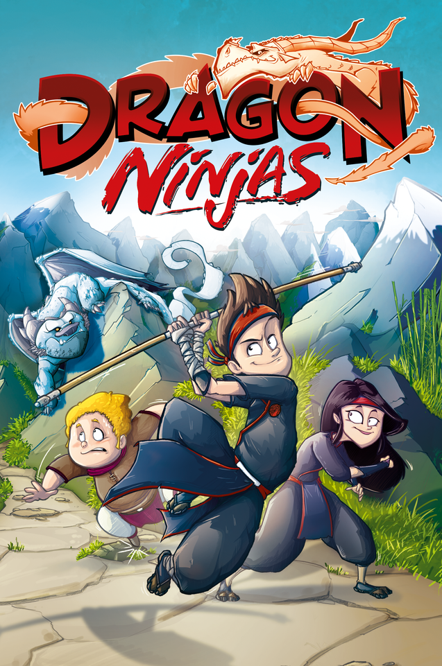 Dragon Ninjas Cover - Band 1