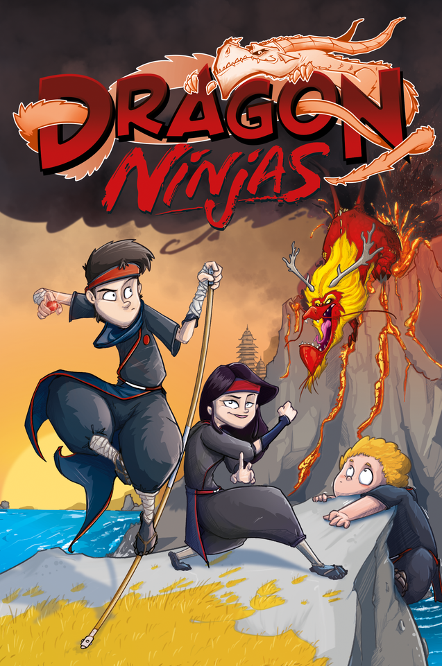 Dragon Ninjas Cover - Band 2