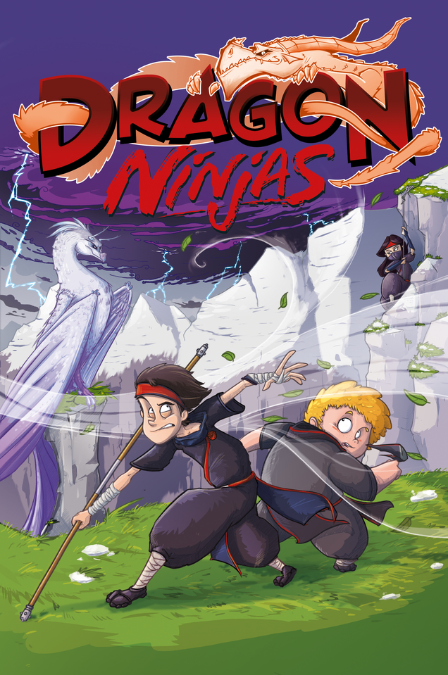 Dragon Ninjas Cover - Band 3