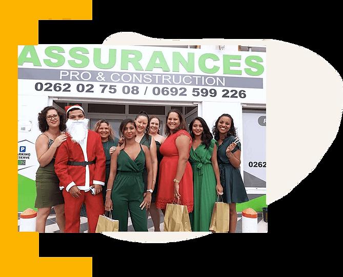 L'équipe de APC Assurance à la Réunion