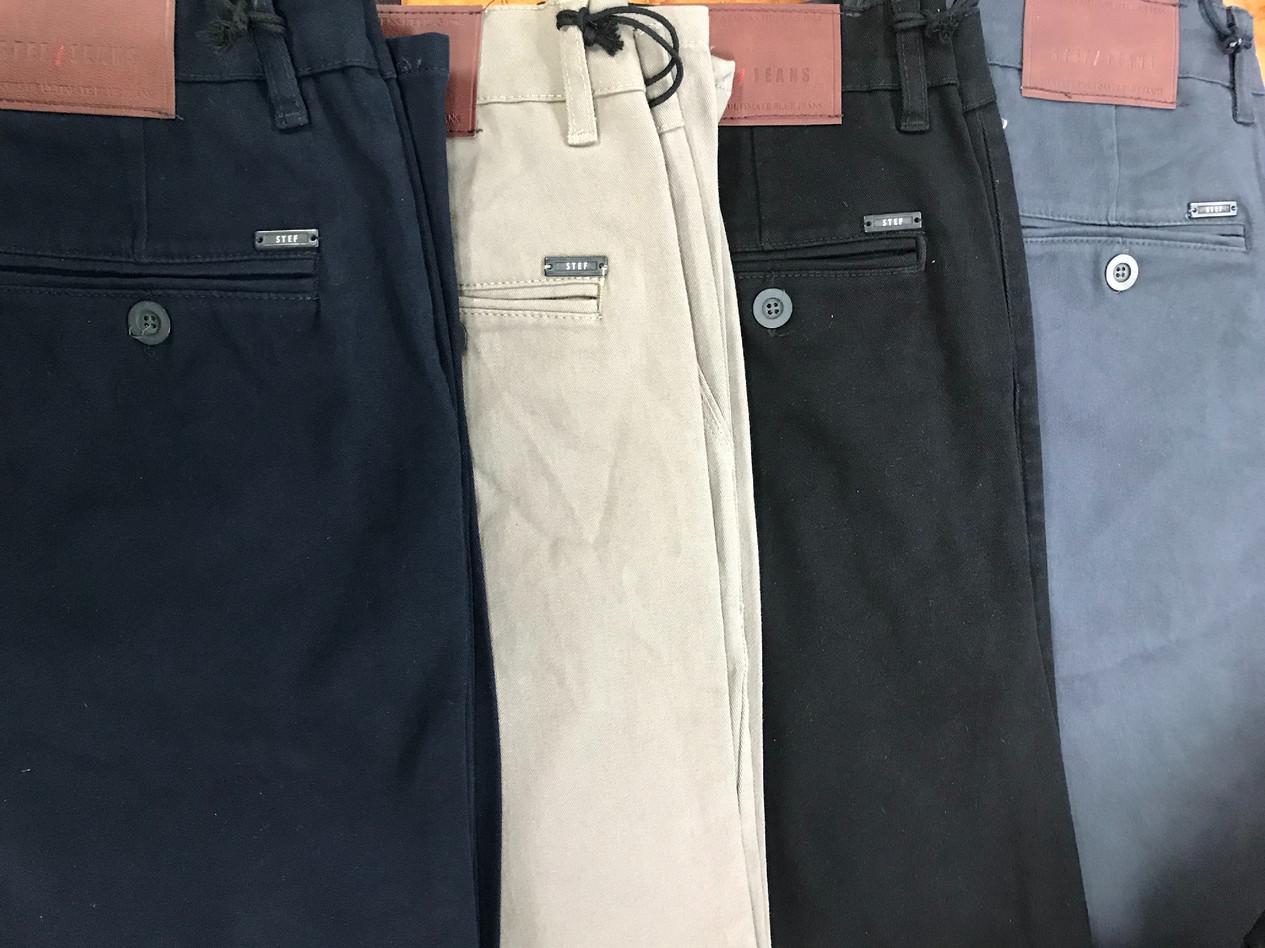 Chinos 410 (Blue, beige, black, grey)