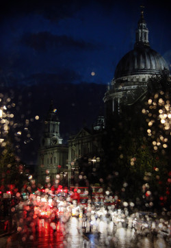 St Paul's in the rain