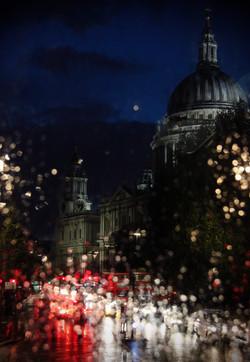 St Paul's in the rain