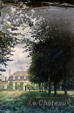 Le Chateau - collage