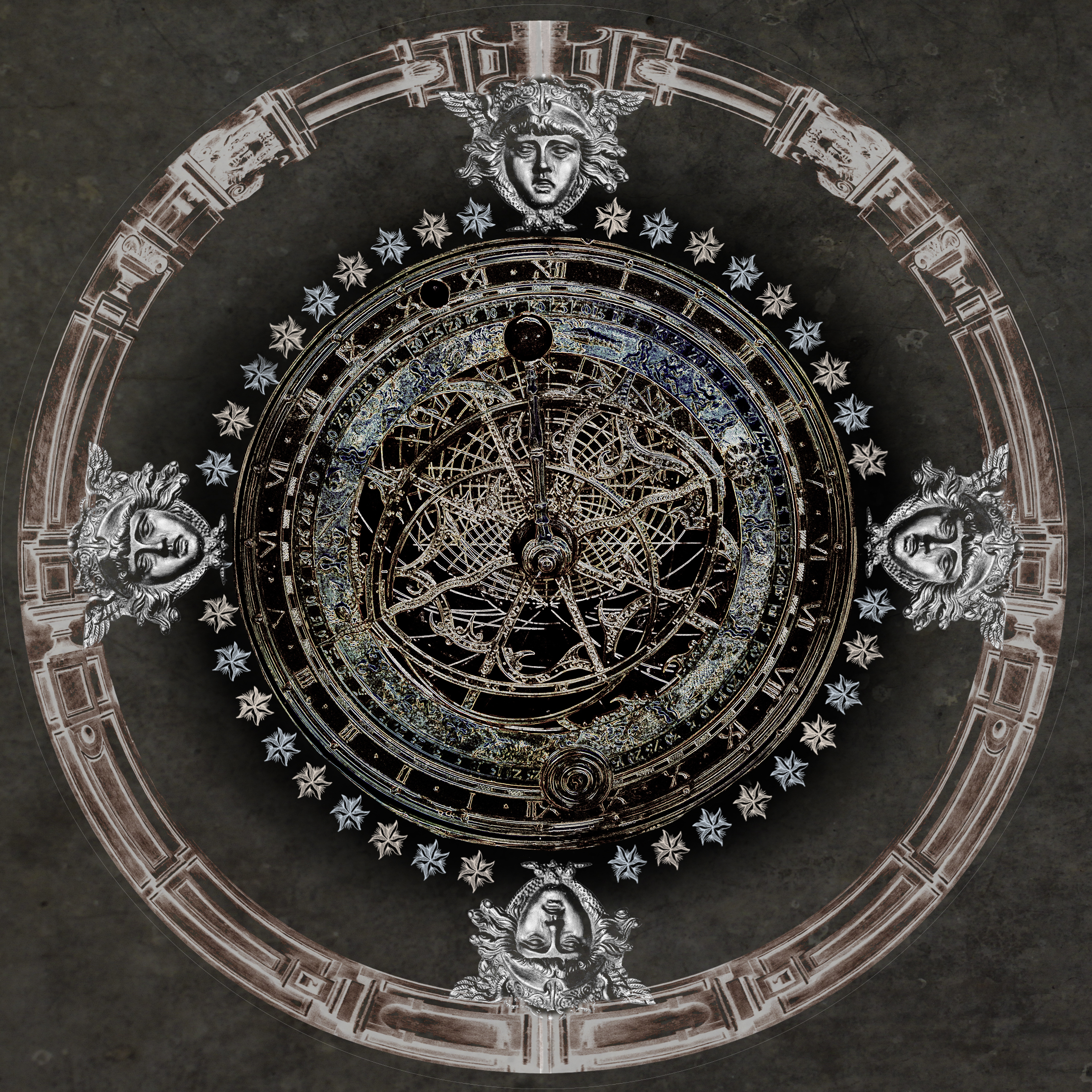 Dark Astrolabe - round
