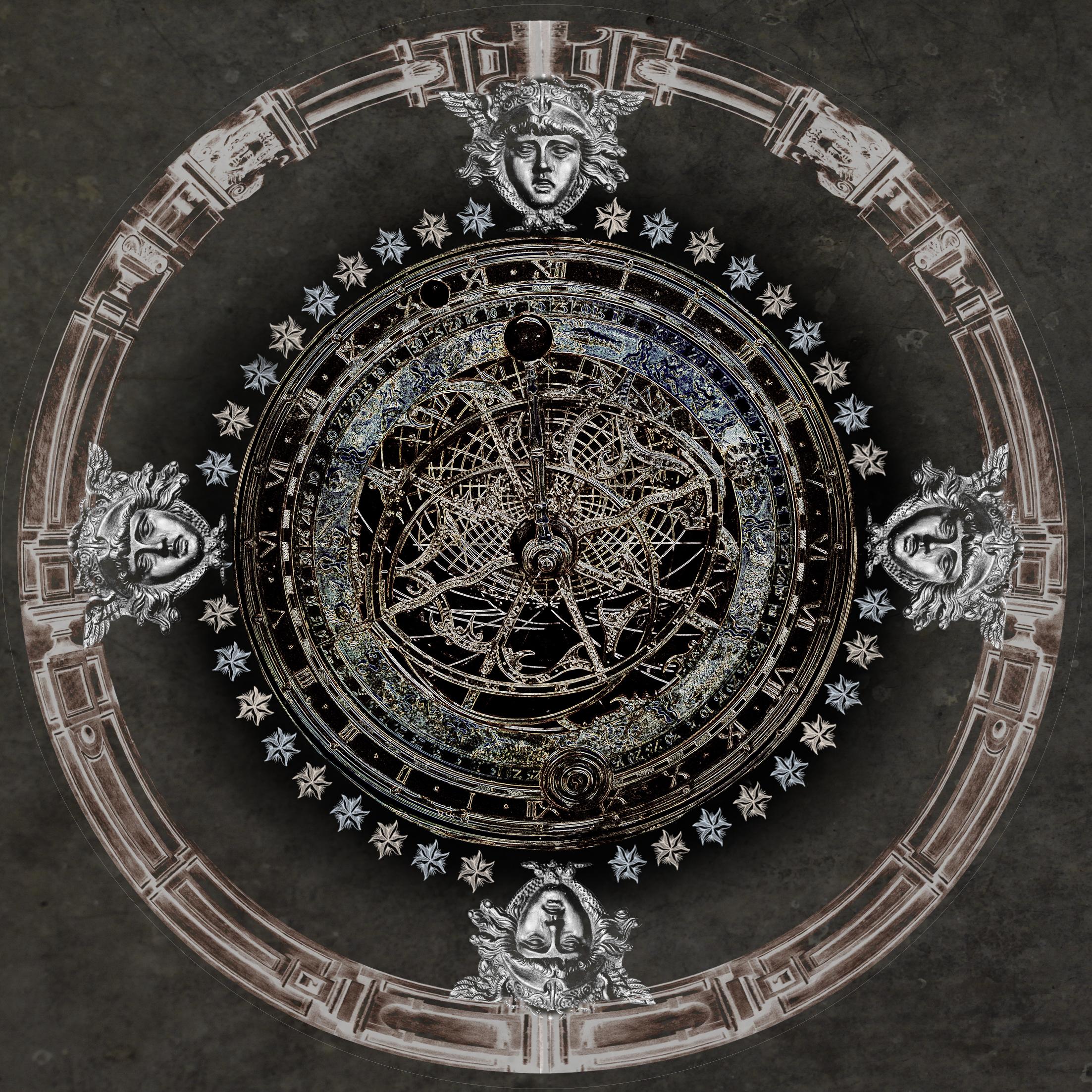 Dark Astrolabe - round