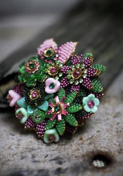 Machiko's vintage jewellery collection
