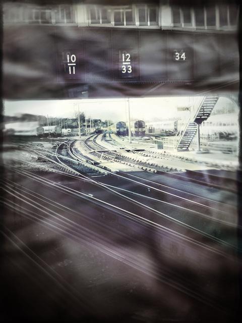clapham j railway collage