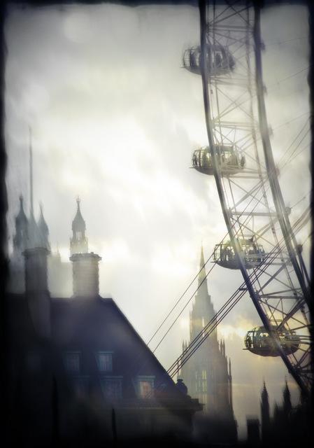 London eye collage