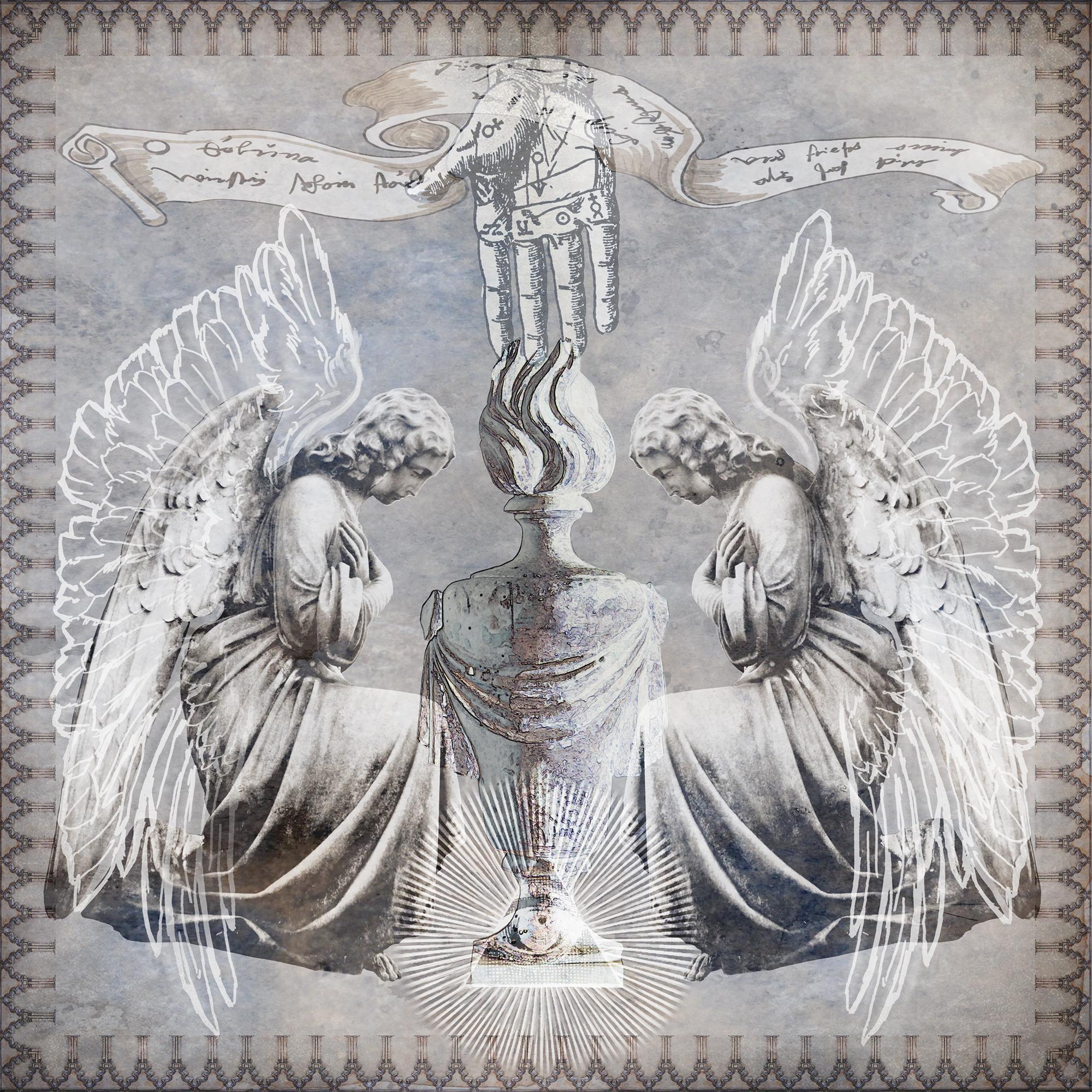 Kneeling angels