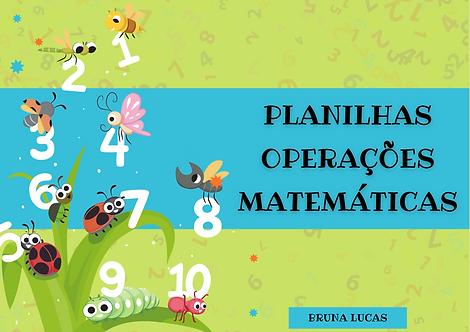 Planilhas Operações Matemáticas