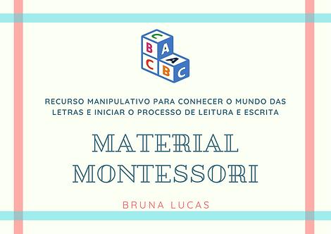 Recurso Manipulativo Montessori