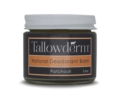 Patchouli Scented Natural Deodorant