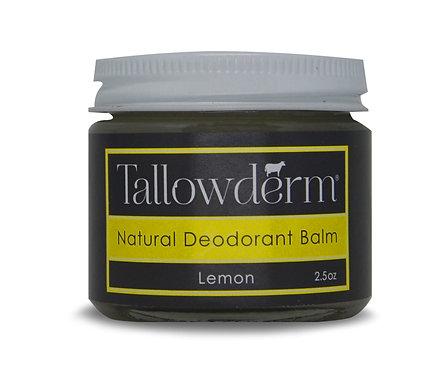 Lemon Scented Natural Deodorant