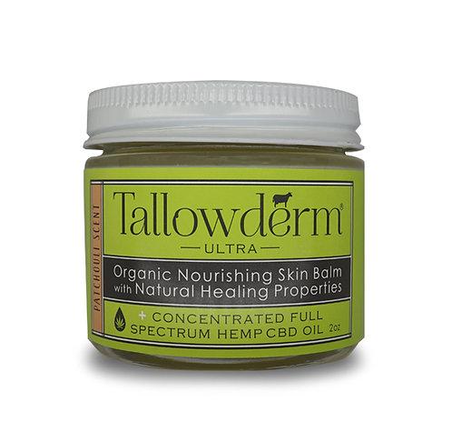 Patchouli ULTRA skin balm with  CBD oil