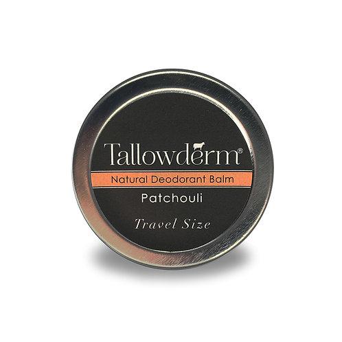 Patchouli travel size deodorant