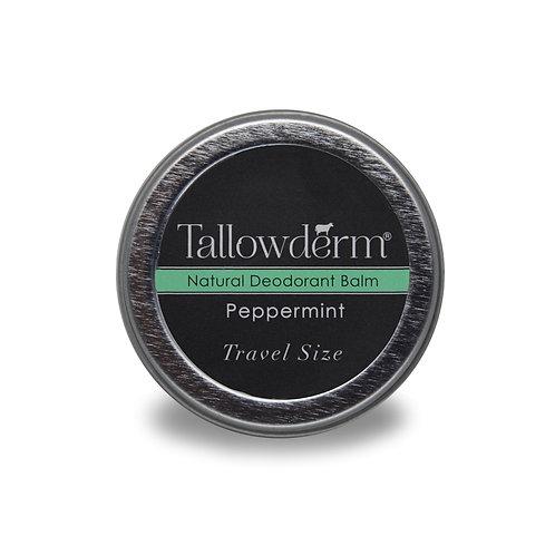 Peppermint travel size deodorant