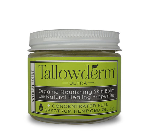 Natural ULTRA skin balm with CBD oil