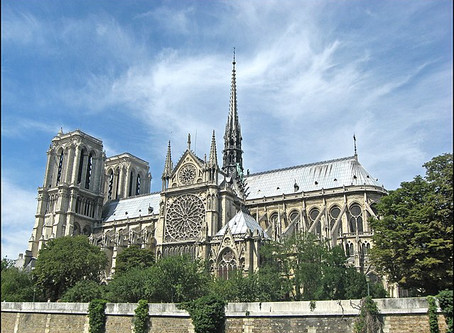Message from Rabbi Benson About Notre-Dame