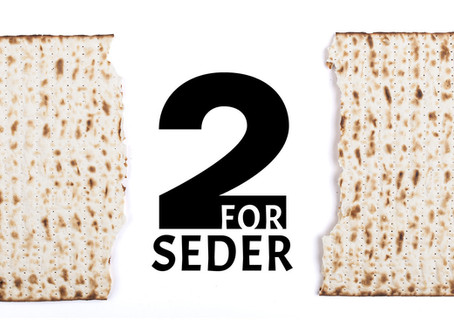 2 for Seder: Pushing Back On Anti-Semitism with Love and Matzah!