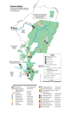 National Wildlife Refuge Trail Map