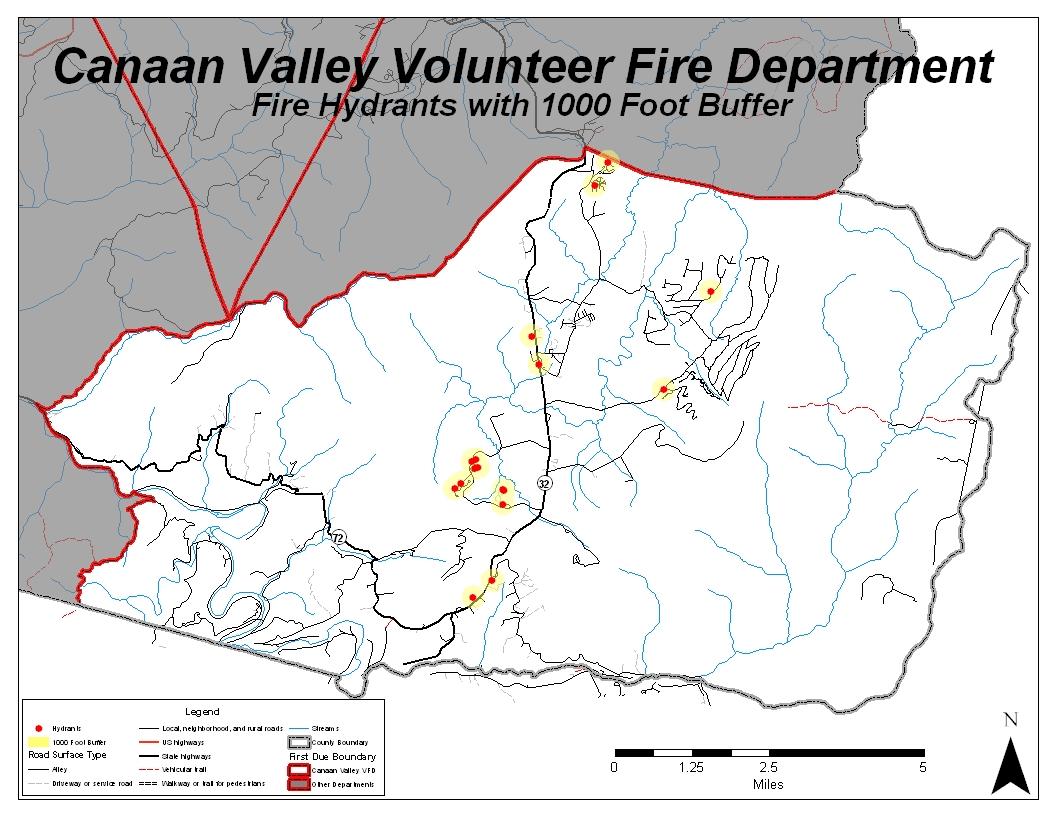 Canaan Valley Response Area
