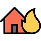 Residential/commercial houses, vehicle, and brush fires