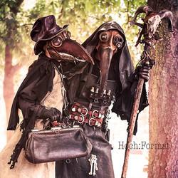 Steampunk Plague Doctors