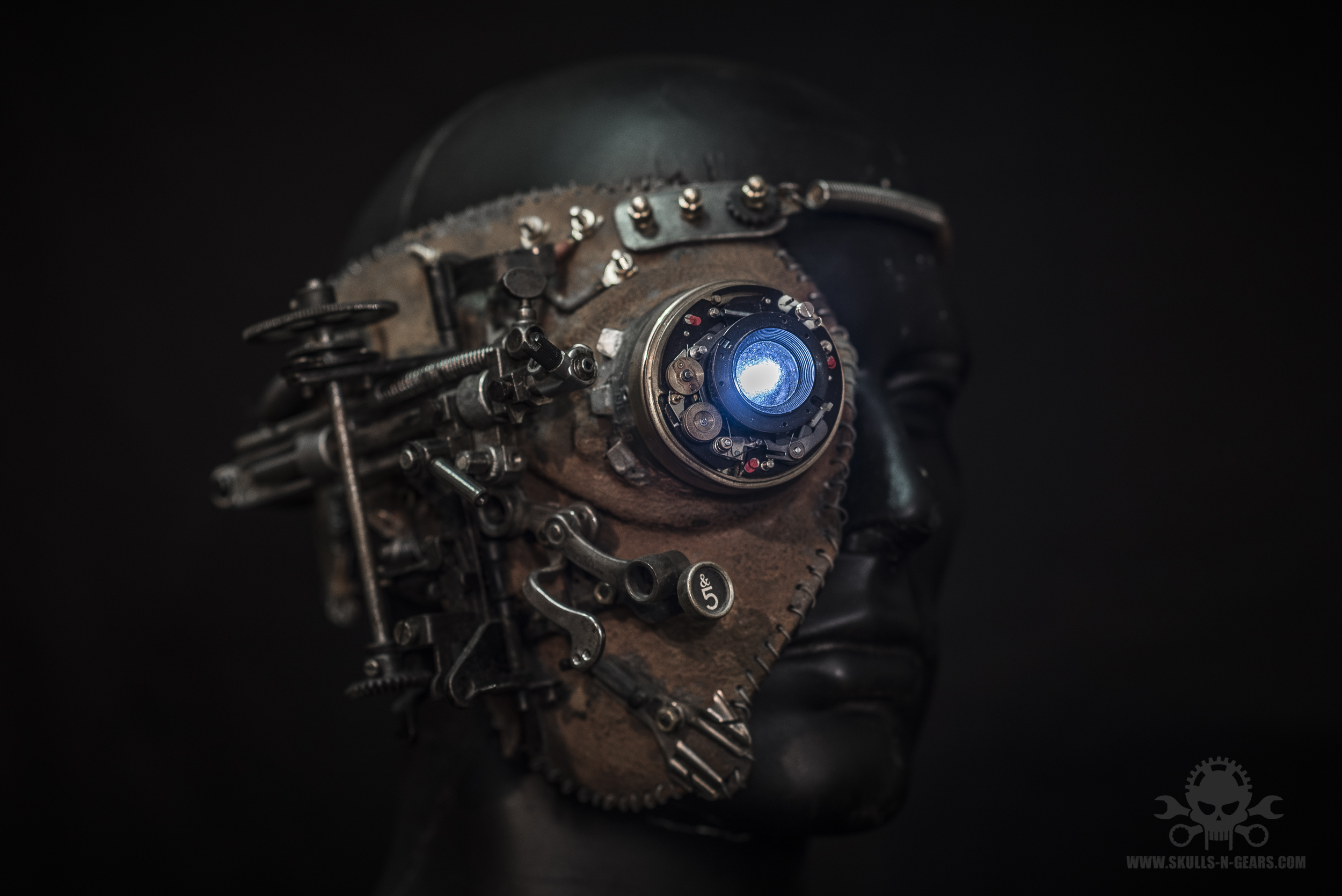 Steampunk Borg Mask