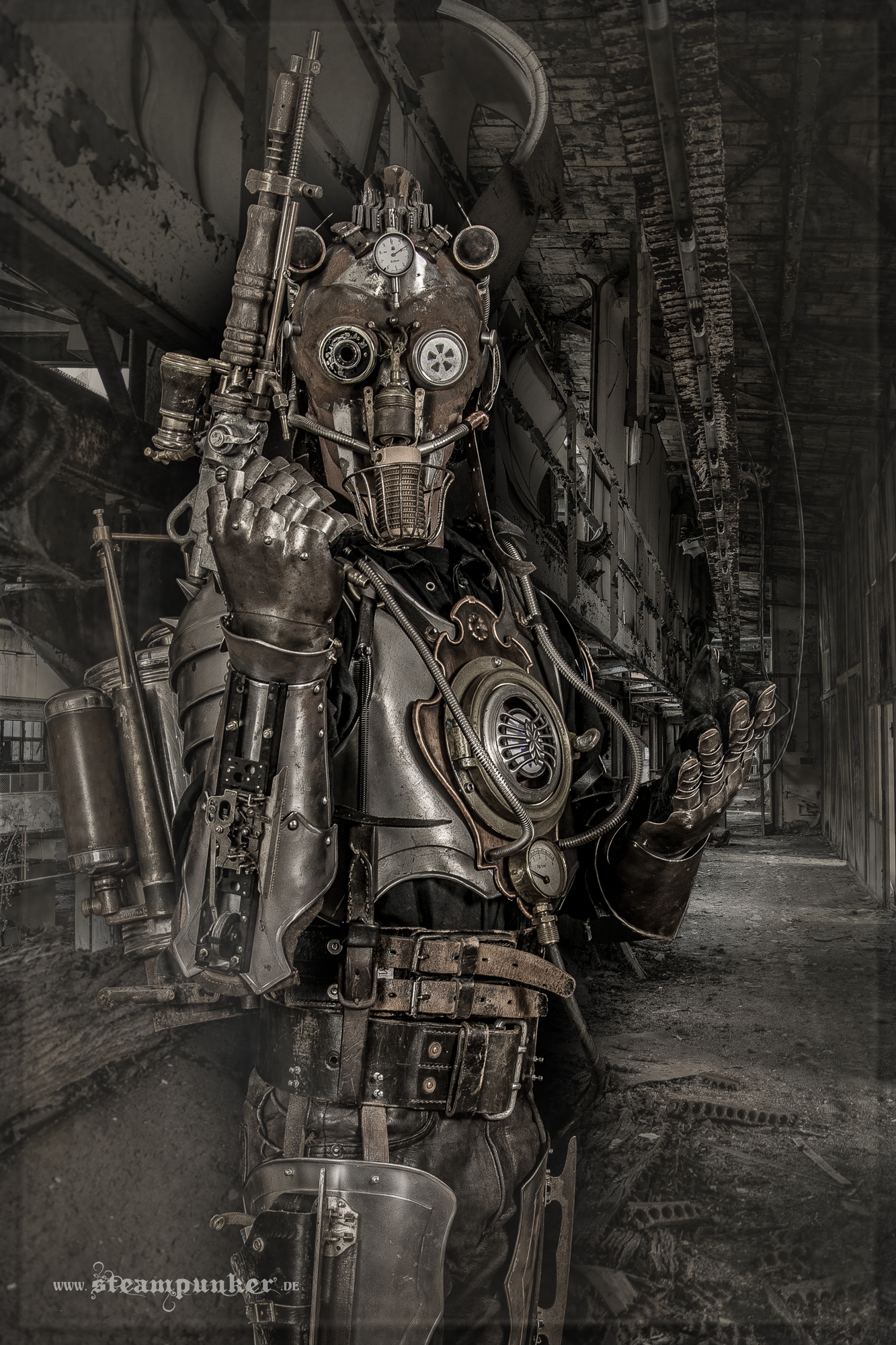 Steampunk Warrior - Iron Man