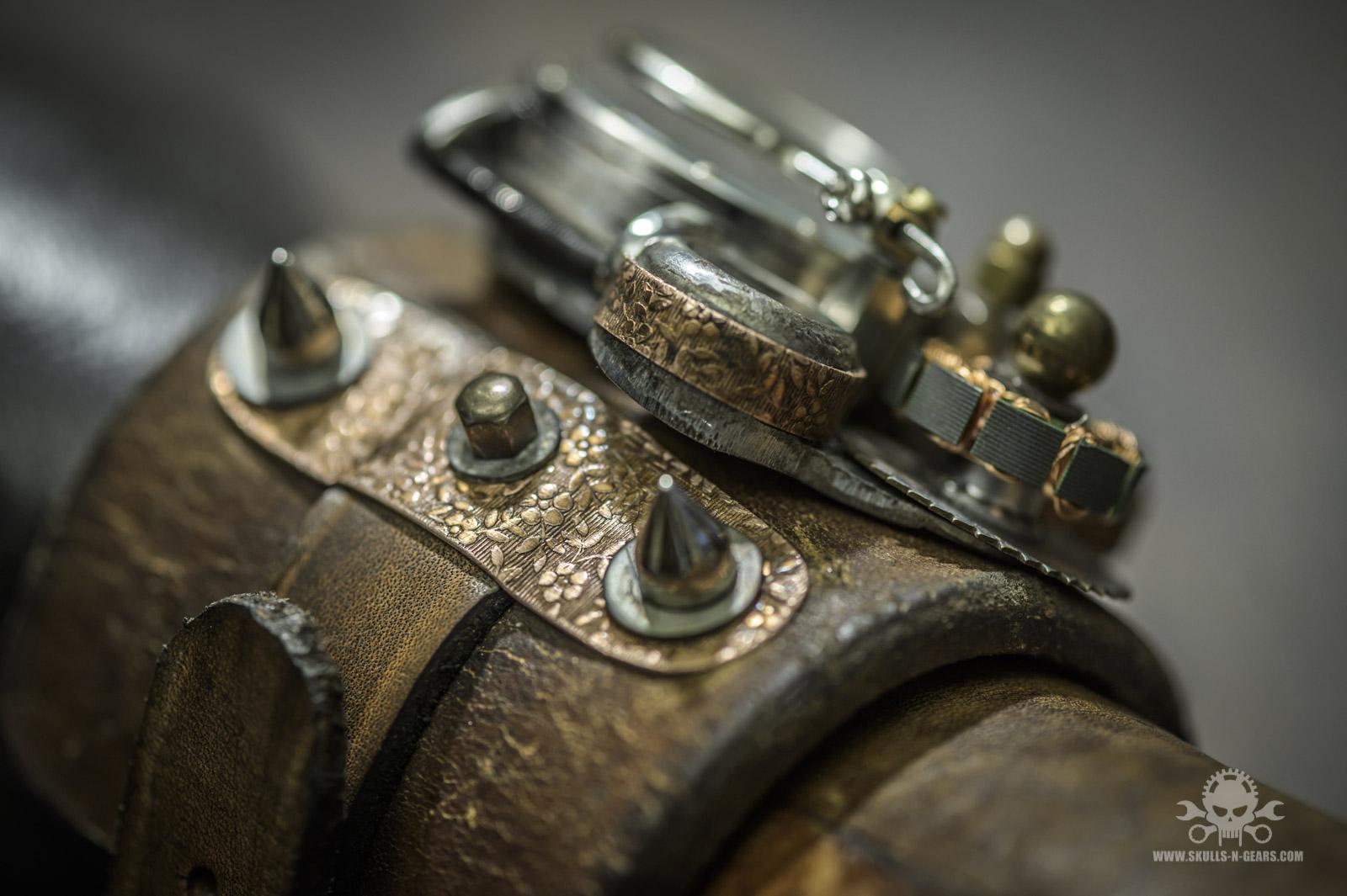 Steampunk Uhr [010030017] -10