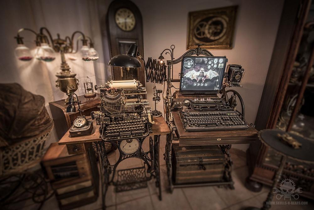 Steampunk Computer von Alexander Schlesier