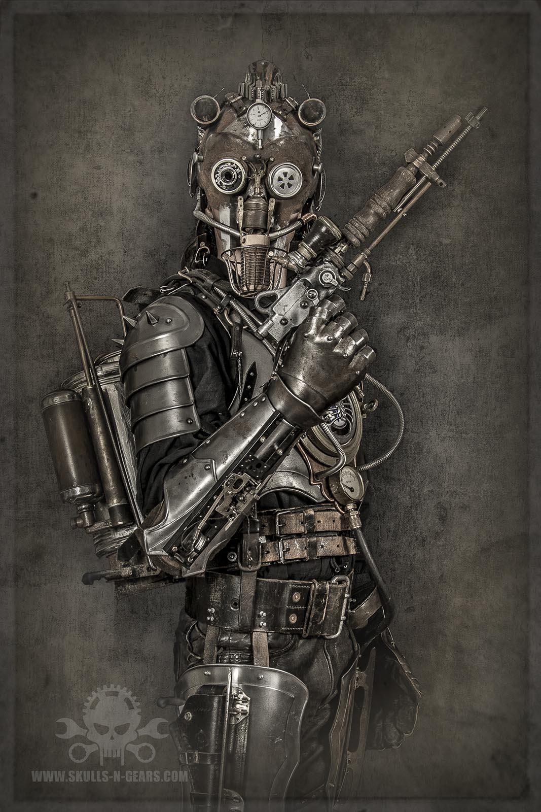 Steampunk Warrior - Iron Man