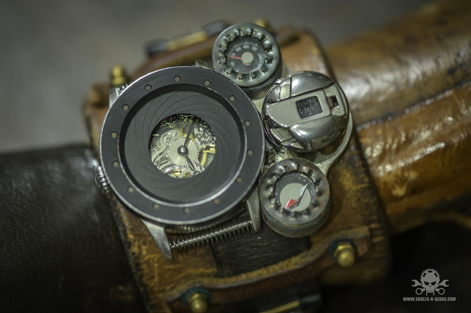 Steampunk Uhr [010030015] -16