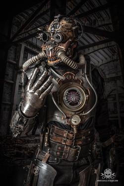 apocalyptic Steampunk full body amor-2
