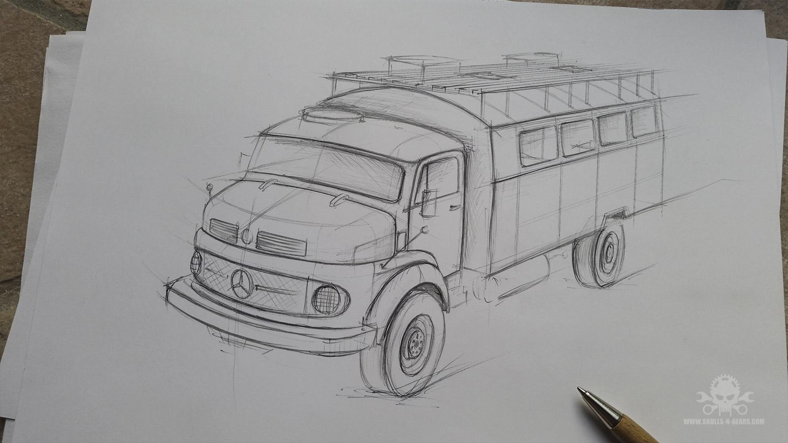 Mercedes LA 710-30