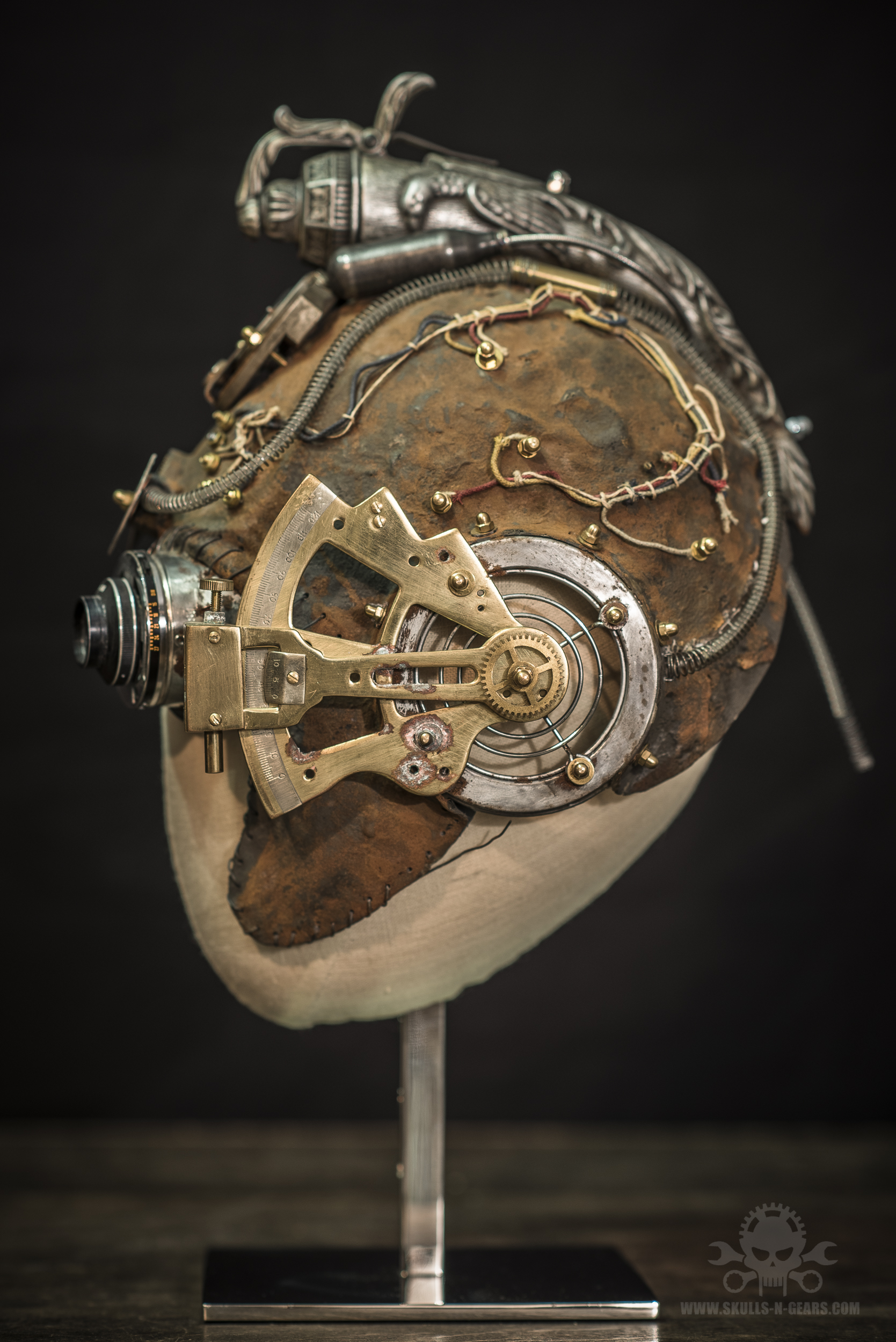 Steamborg helmet