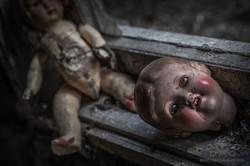 antike Puppen