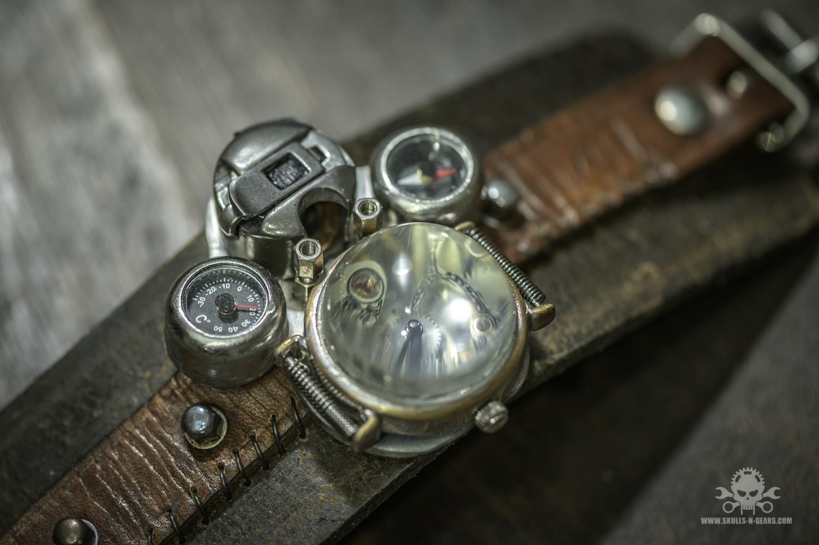 Steampunk Uhr [010030012] -28