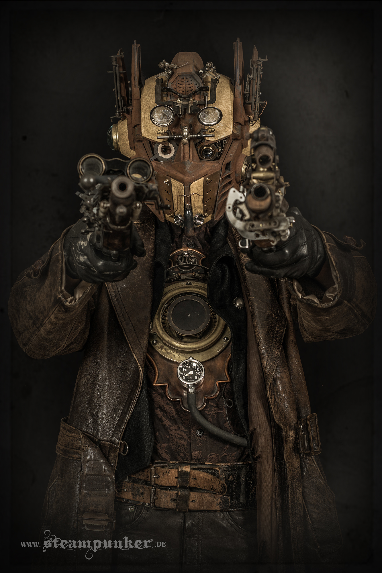 Steampunk Transformer Outfit