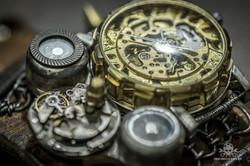 Steampunk Uhr [010030018] -17