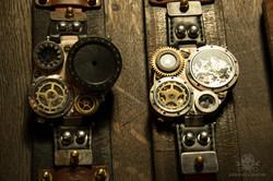 Steampunk Uhr