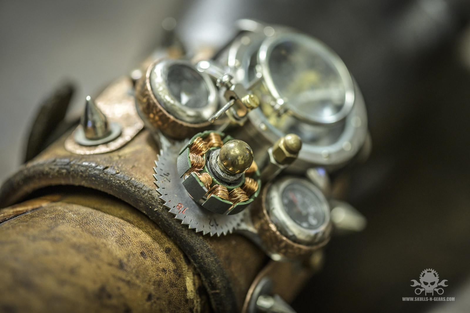 Steampunk Uhr [010030017] -9