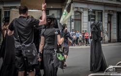 WGT 2019 - Extinction Rebellion Marsch-2
