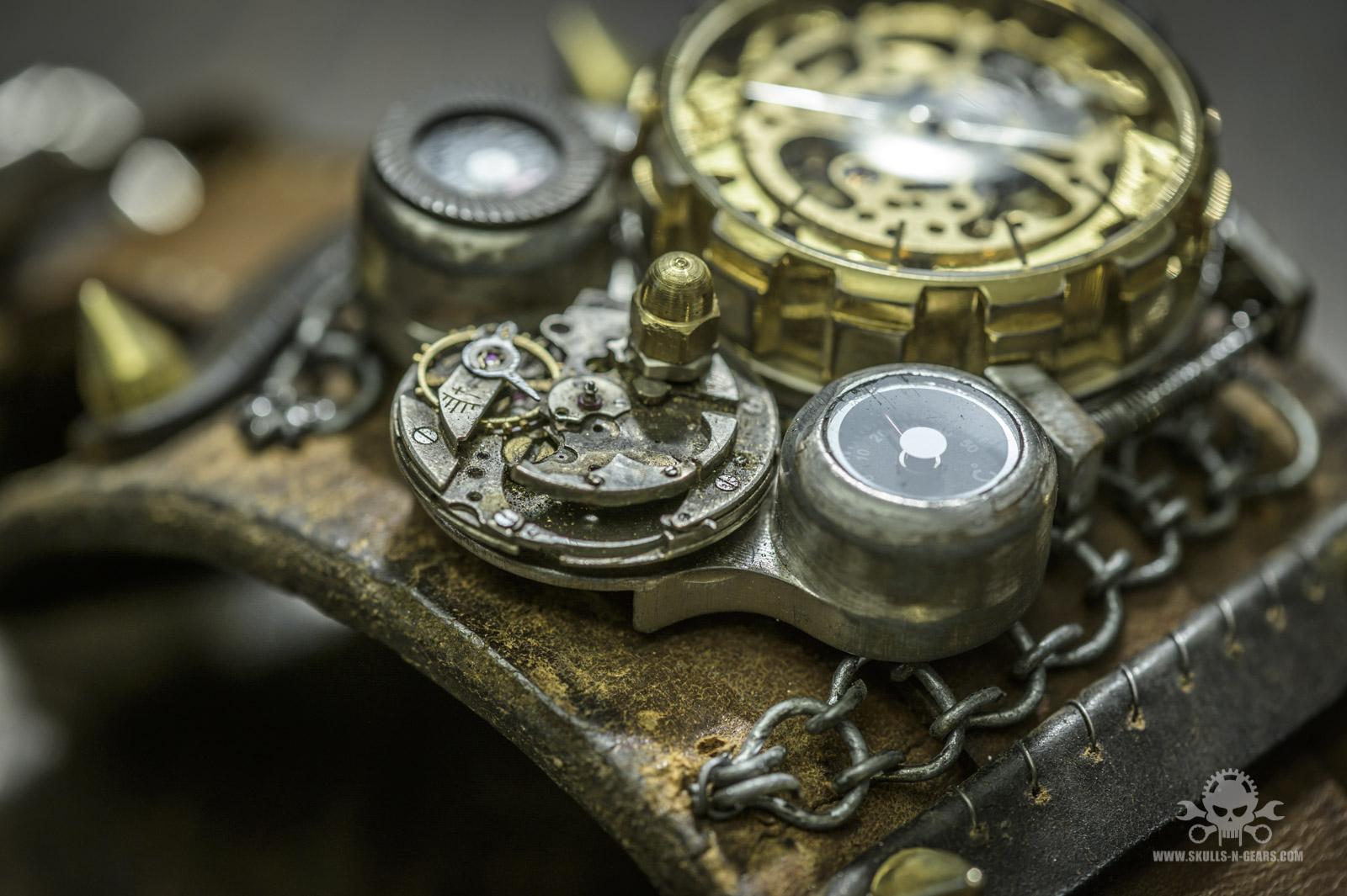 Steampunk Uhr [010030018] -16