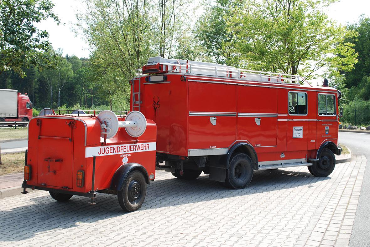 Anhänger Feuerwehr TS