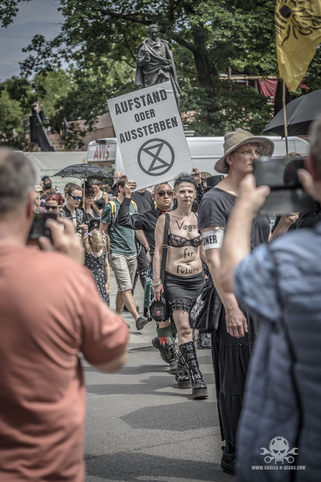 WGT 2019 - Extinction Rebellion Marsch-2