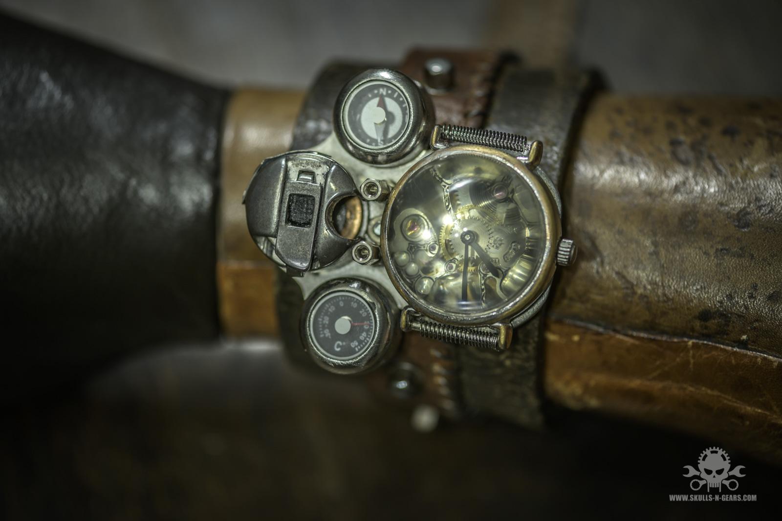 Steampunk Uhr [010030012] -34