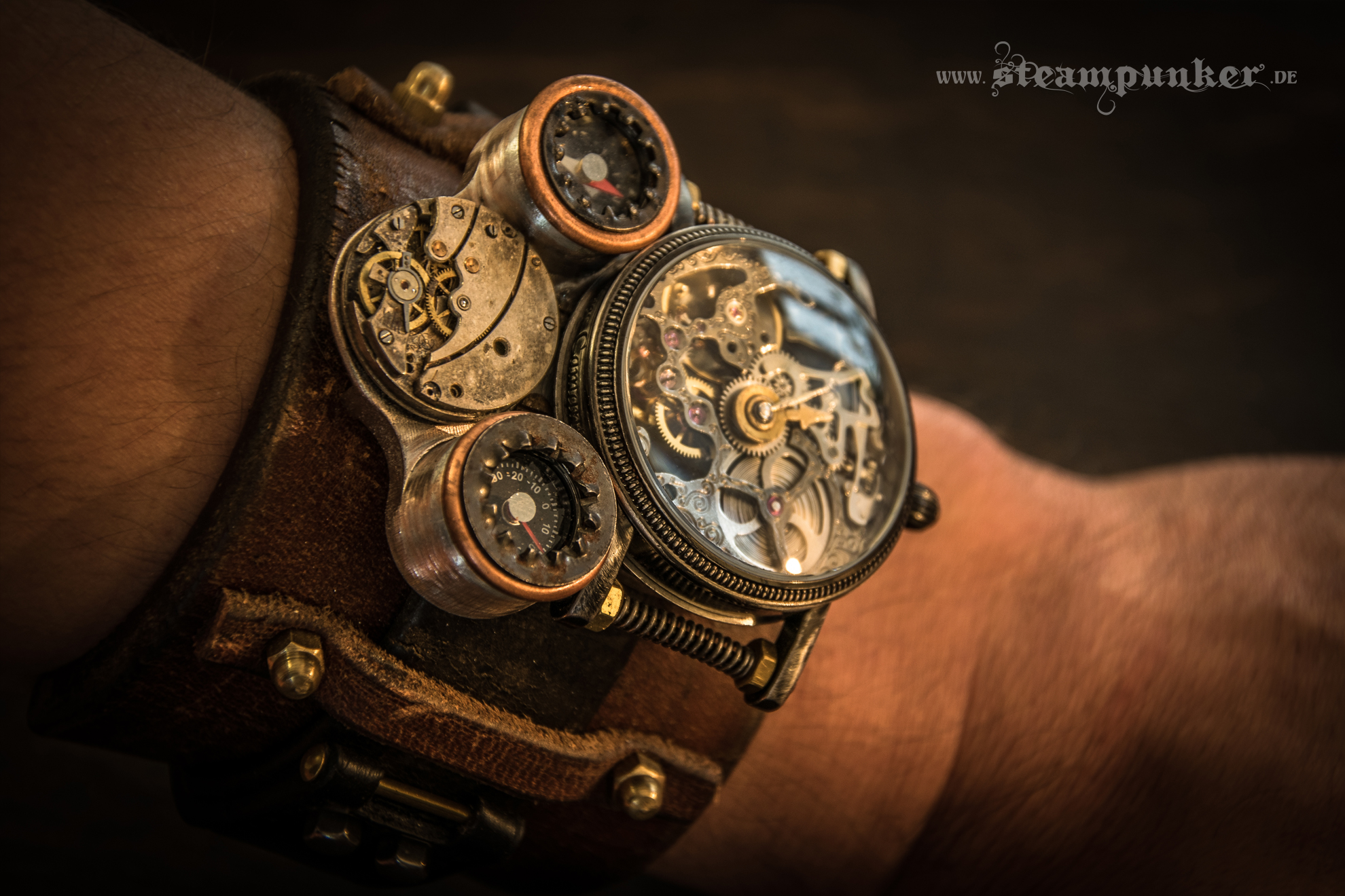Steampunk Watch - Timemachine